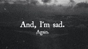imagenes sad en inglés
