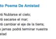 Imágenes con Poemas de Amistad
