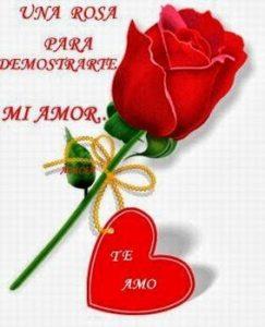 imágenes de amor con rosas bonitas y corazones