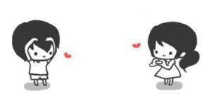 Imágenes Kawaii de Amor sin frases