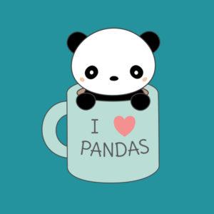 imagenes kawaii de pandas