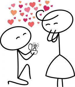 Imágenes bonitas para Dibujar de Amor