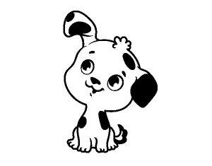 Imágenes de Perros para Dibujar lindas