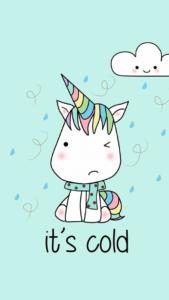 fondos de unicornios kawaii