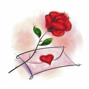 imagenes bonitas para dibujar de amor 2018