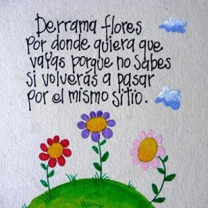 Hermosas Imágenes De Flores Con Frases Para Dedicar