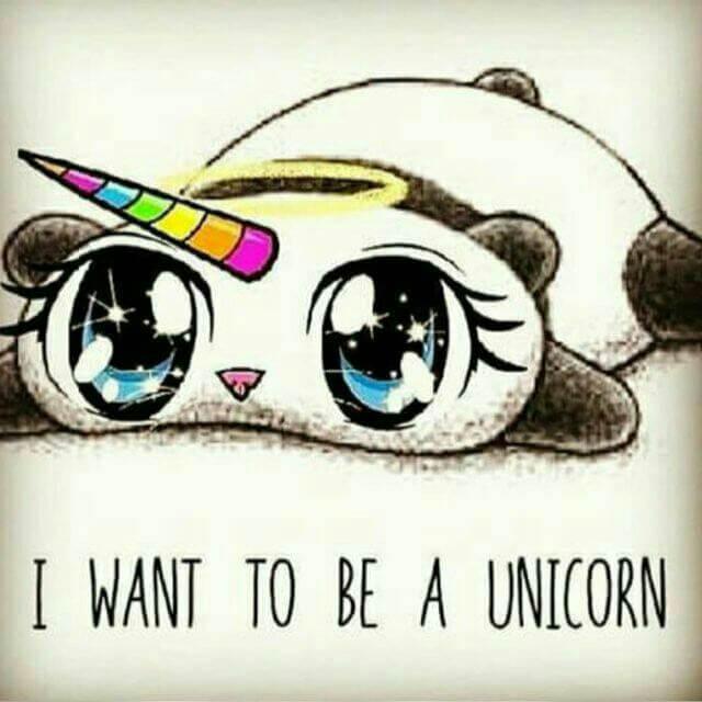 imagenes de quisiera ser un unicornio kawaiis