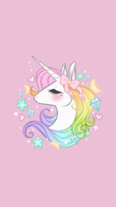 imagenes kawaii con unicornios
