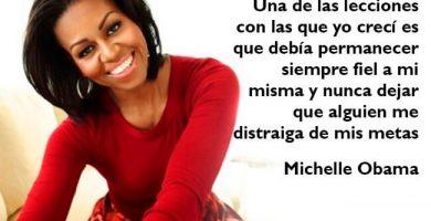 imagenes de mujeres exitosas Michelle Obama