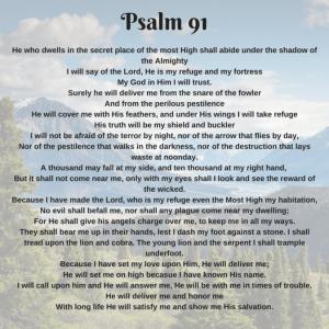 imagenes del salmo 91 en inglés