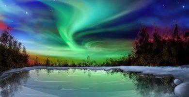 imágenes de la naturaleza de auroras