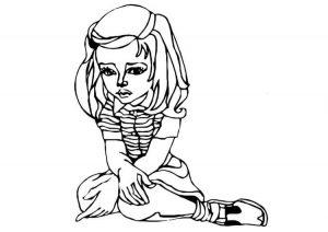 imagenes tristes para dibujar para imprimir