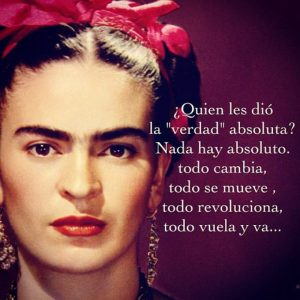 frases de Frida Kahlo de la vida