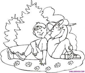 imágenes de amistad para dibujar amigas