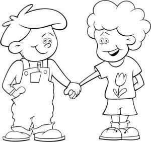 imágenes de amistad para dibujar amigos