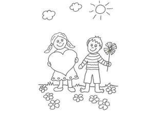 imágenes de amistad para dibujar de amigos