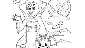imágenes de halloween para colorear gratis