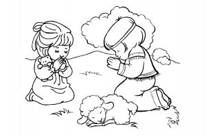 Dibujos Para Pintar Para Ninos Biblicos Dibujos De La Biblia Para
