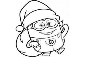 imagenes de los minions de navidad