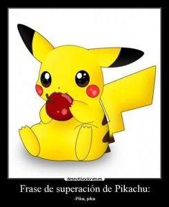 imagenes de pikachu con frases