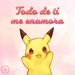 Imagenes De Pikachu Muy Bonitas Con Frases Kawaii Y Para Colorear