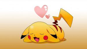 imagenes de pikachu de amor