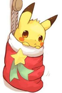 imagenes de pikachu kawaii de navidad