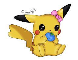 imagenes de pikachu muy tiernas