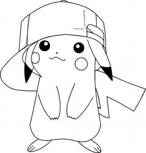 imagenes de pikachu para imprimir