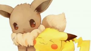 imagenes de pikachu románticas