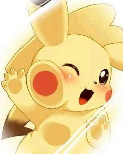 imagenes kawaii de pikachu