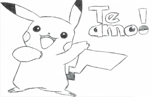 pikachu que diga te amo