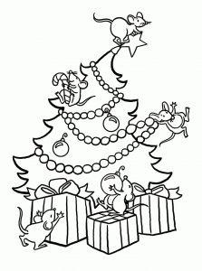dibujos de Árboles de Navidad