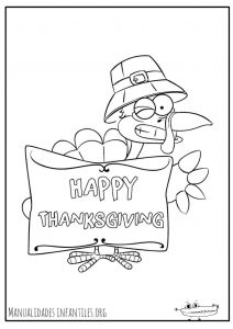 dibujos de thanksgiving