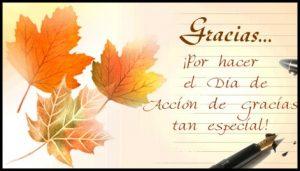 frases de día de acción de gracias