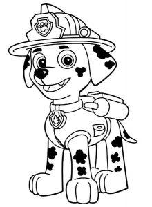 imagenes patrulla canina para imprimir