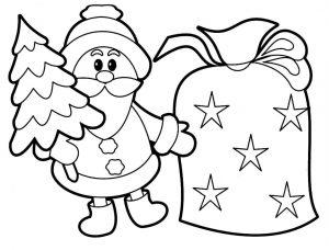 Imágenes De Navidad Para Colorear Dibujar Las Mejores Del 2018
