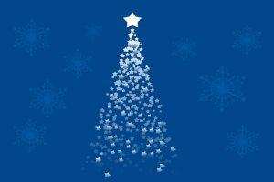 fondos de navidad de árboles