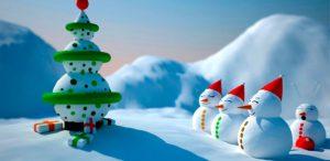 fondos de navidad tiernos
