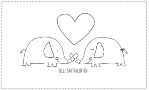 Imágenes De San Valentín Para Colorear Comparte El Amor En Dibujos
