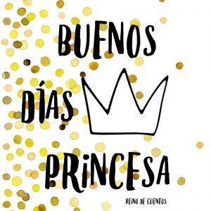 Imágenes de buenos Días Princesa bonitas