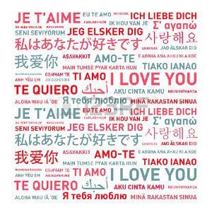 Imágenes de Amor para Siempre en varios idiomas
