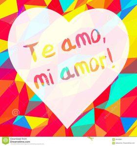te amo mi amor frases e amor