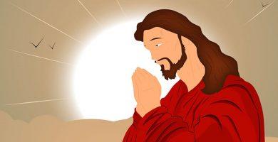 imagenes de jesus orando semana santa