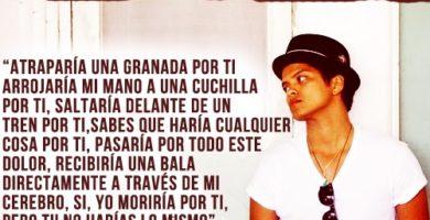 Frases de Bruno Mars para descargar