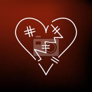 corazón roto imágenes