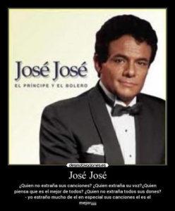canciones josé josé