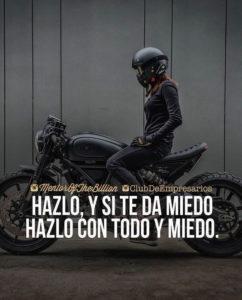 fraes para motociclistas