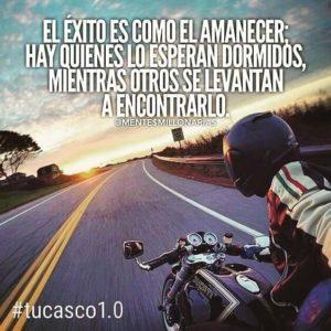 frases de motos para el éxito
