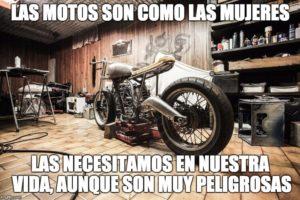 imágenes bonitas con frases y motos